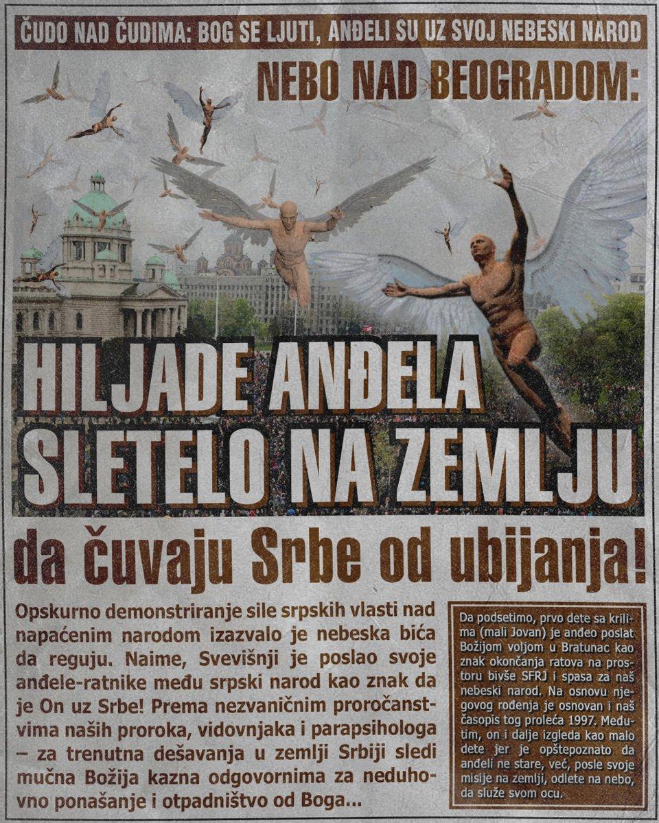 Hiljade anđela sletelo na zemlju da čuvaju Srbe od ubijanja