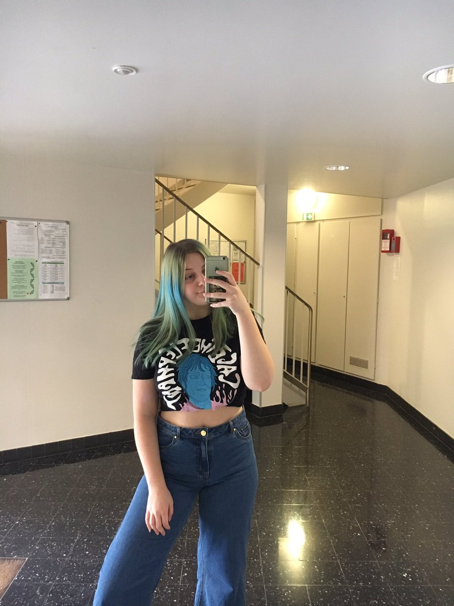 hi i'm Camille but u can call me Cam, i'm 18 and i use the pronouns she/her !! I'm french and i've been in the bhc for 2 years now I'm also a huge SWMRS stan :))  People say i look intimidating but i swear i'm not#bhcmeetandgreetpic.twitter.com/ydT4KkkcfV