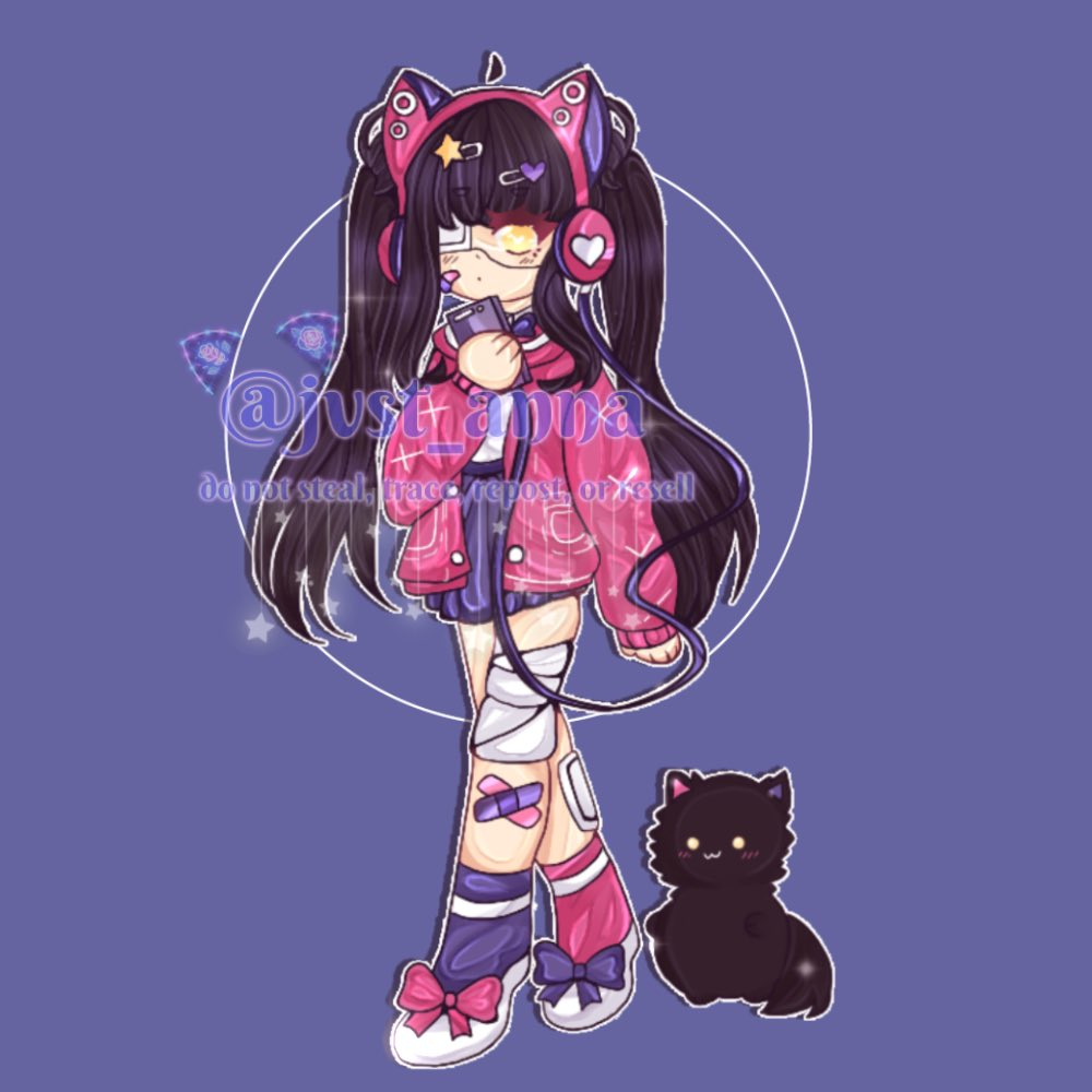 yayy my official persona is now donee! ngl i need to commission someone who can do oc reference sheets since I suck at making them lolol   any form of support is appreciated!  *—————-꧁•*☾*•꧂—————*. #chibi #chibiart #art #persona #oc #digitalart https://t.co/vVAcwbsreM