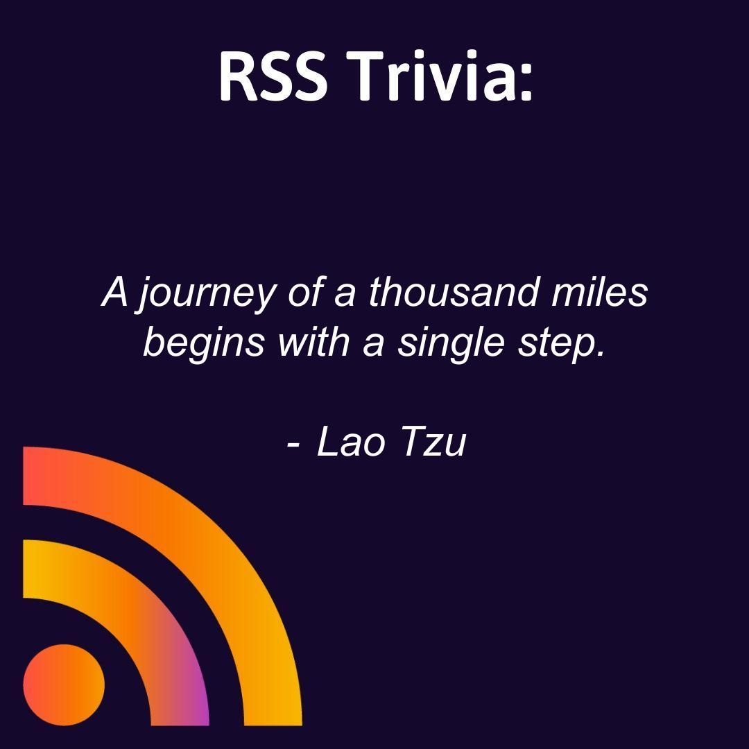 """A journey of a thousand miles begins with a single step."" - Lao Tzu  Begin your journey as soon as you are ready. There's never been a better time to #startapodcast. Learn how to launch your show the right way here: https://t.co/s8JcUBEAef  #quotes #motivation https://t.co/WqFdBbast1"