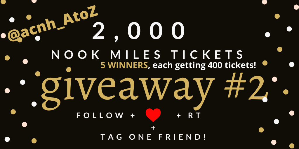 ✈️2000 NMT giveaway once goal reach!✈️ #ACNHgiveaways total of 5 winners to share the prize pool!   Entry Rule: - Follow 💙 - RT 💫 - Tag a Friend 👯  Ends: When Goal is met (350 followers)!  #ACNH  #ACNHgiveaway #acnhtrade #dodocode #animalcrossingnewhorizons https://t.co/xZm1jjT2hG