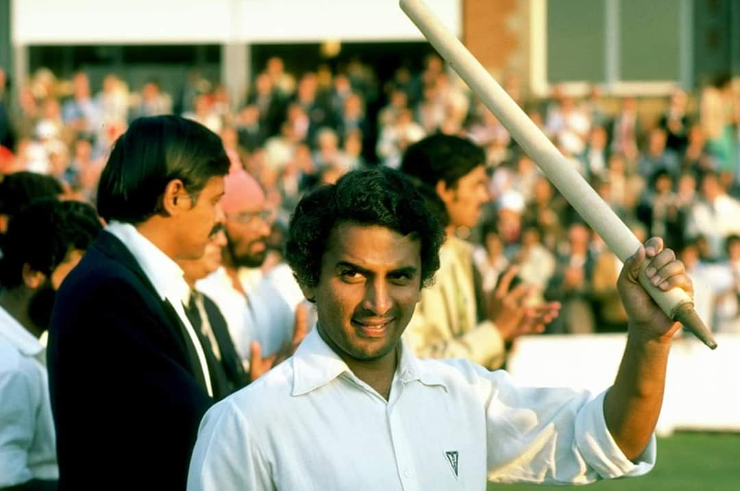 Sunil Gavaskar edges out Don Bradman and every other batsman in the 4th innings of a Test.  (Credits: Twitter)