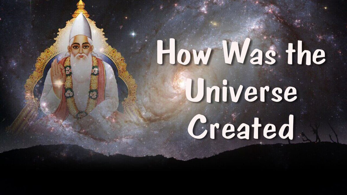 #FridayMotivation  How was the universe created? Who created the Universe?  Watch Sadhna  at 7:30  PM <br>http://pic.twitter.com/gM7wTJvkk7