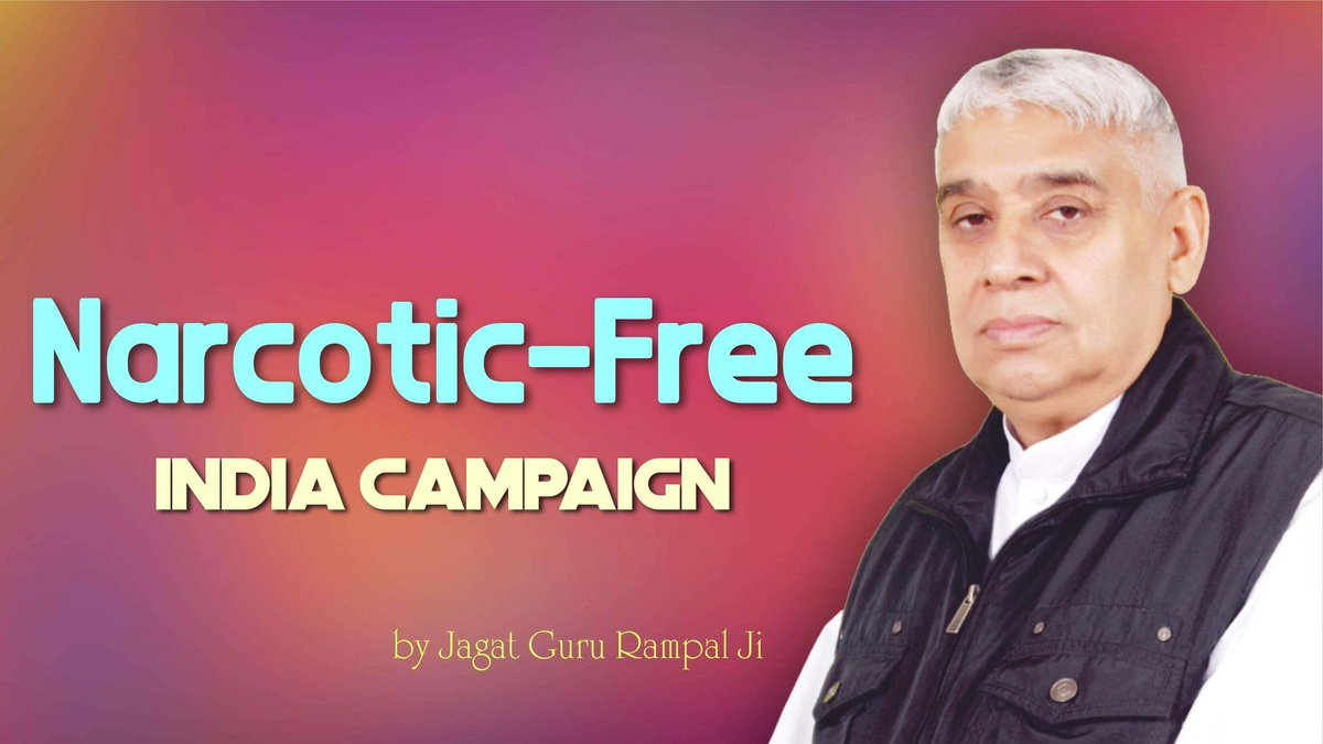 """#FridayMotivation  One of the cardinal teachings of Jagat Guru Rampal Ji is renunciation of intoxicants which some other gurus also profess. The biggest difference however is that when one takes """"naam"""" Listen Sadhna  at 7:30  PM <br>http://pic.twitter.com/X6AMrNa2zI"""