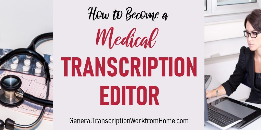 How to Become a Medical Transcription Editor  #MT #medicaltranscription #editor #WAHM #Moms https://t.co/IZrEpVaQQ2 https://t.co/oP2pMIQ6Vk