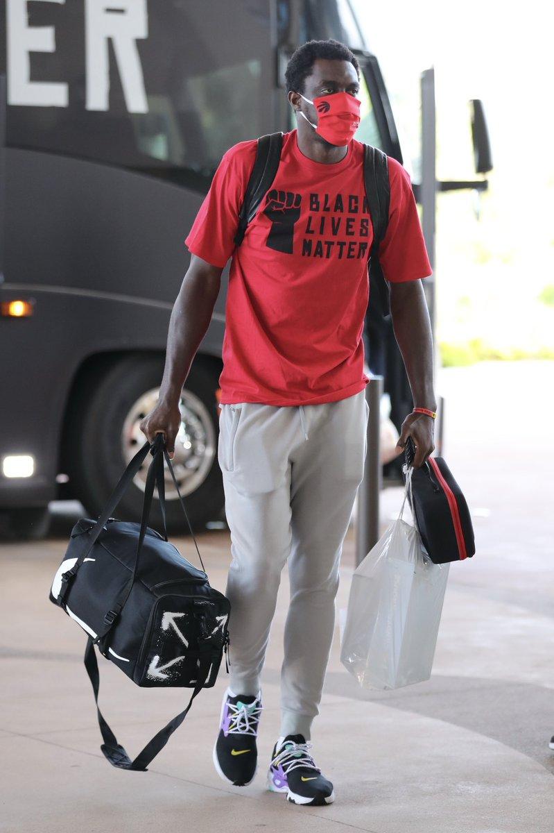 The @Raptors, @sixers, @Pacers & @spurs have arrived in Orlando for the NBA Restart! #WholeNewGame https://t.co/fSJ8pElcLS
