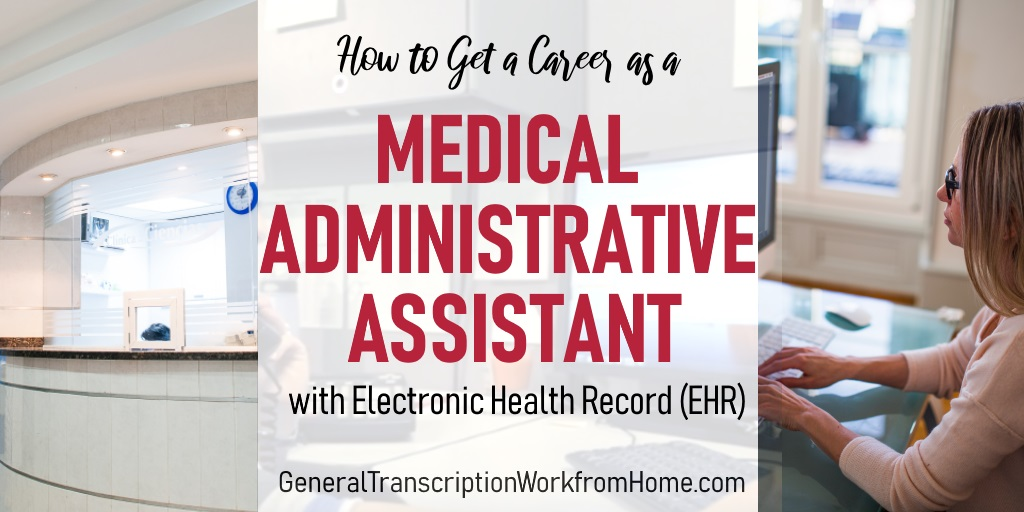 How to Get a Career as a Medical Administrative Assistant with with Electronic Health Record (EHR) https://t.co/lVmGeP3sAD #medicalassistant https://t.co/VxR3sbcClF
