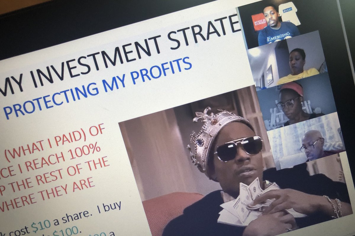 """We had a great time tonight for our Invest in Yourself """"Stock Market 102"""" webinar! So Thank you to everyone who participated! Over 150 people have attended the 102 session #Investinyourself pic.twitter.com/uTB3SUzxYd"""