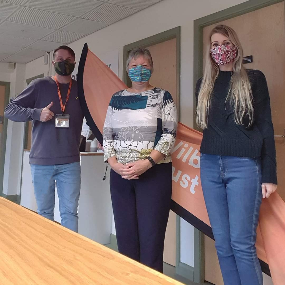 A huge thank you to the #Masketeers for providing our staff and tenants with reusable masks.  Check out our Contracts Manager, Facilities Manager and Head of Operations in HQ today   #WilberforceTrust #Charity #Yorkshire #Management #Masks #COVID19 https://t.co/wLrLsxq9TG
