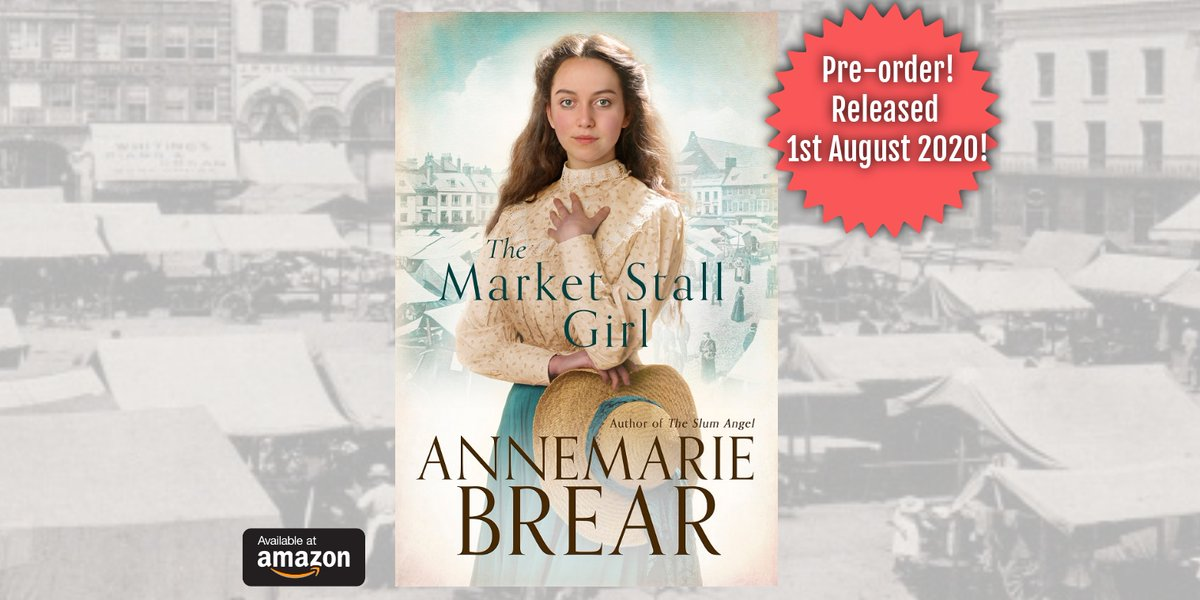 The Market Stall Girl Will Beth and Noah find the happiness they wish for or will overwhelming events break them apart? #Edwardian #historicalsaga #familysaga #Wakefield #Yorkshire @amazonkindle https://t.co/Ij272rUOVr https://t.co/sxRU5R8j5I