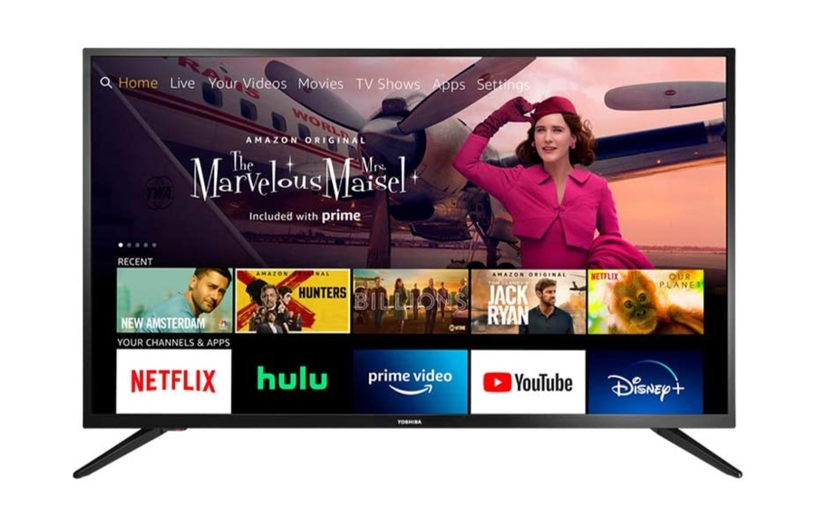 Add a 43-inch Smart TV with Fire TV Built in to Your Living Room for Just $199 [$80 Off] dlvr.it/RbJQQ2