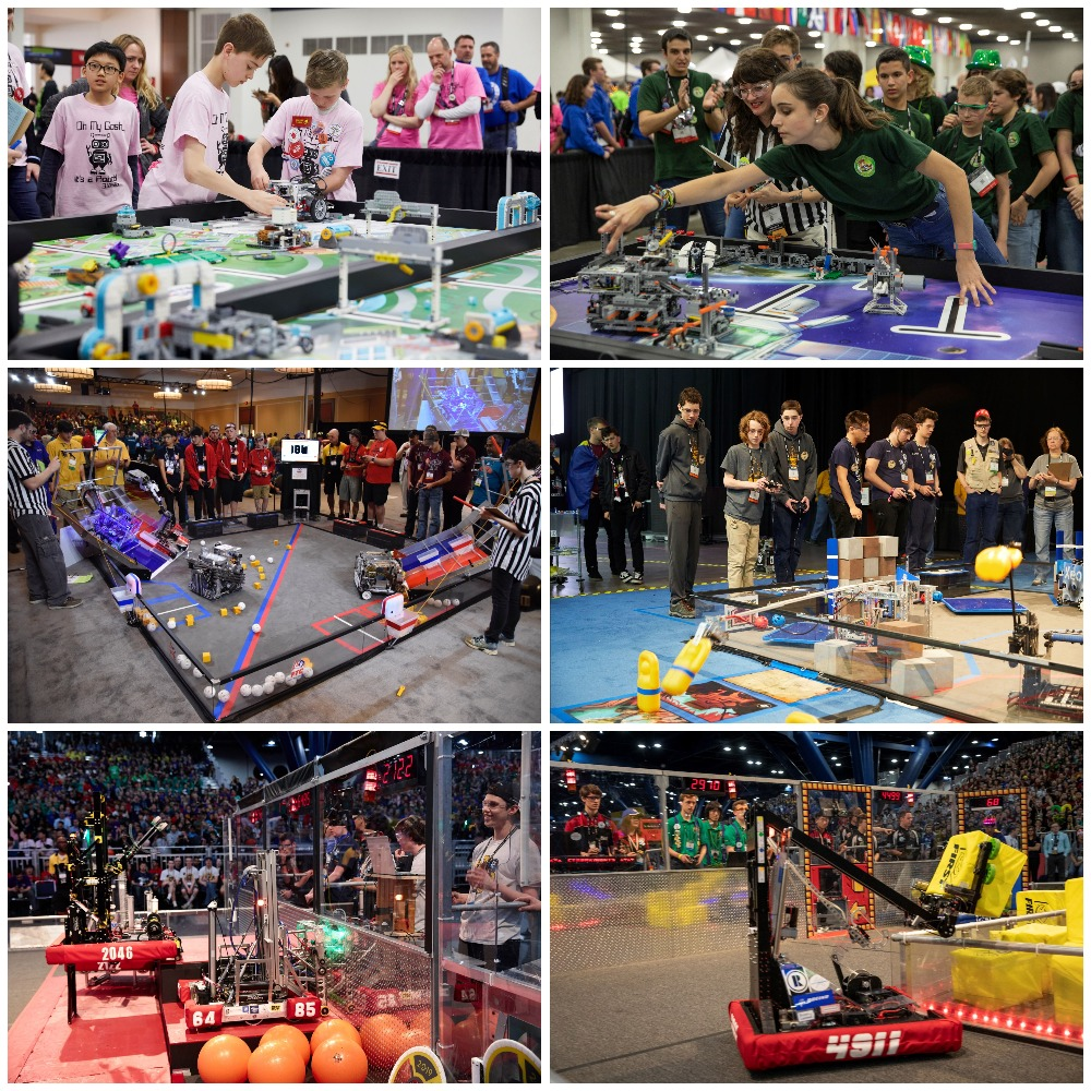 Throwing it back to past @firstlegoleague, @FTCTeams & @FRCTeams season action because we miss robots, we miss you & we can't wait to see everyone for #FIRSTGAMECHANGERS! But since we can't play yet, what's your favorite past season game & robot build? 🤖 https://t.co/YNn6AUQ1wo https://t.co/0Rb2RM5jzH