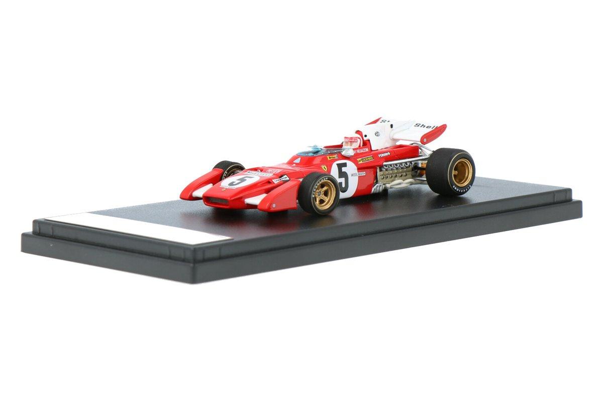 Nieuw: Ferrari 312 B2 #Ferrari #Looksmart #Formule1 #ScuderiaFerrari #ClayRegazzoni #1971 #5 #BritishGP #modelcars https://t.co/okqTnZMpRs https://t.co/s06w0Bq3Kr