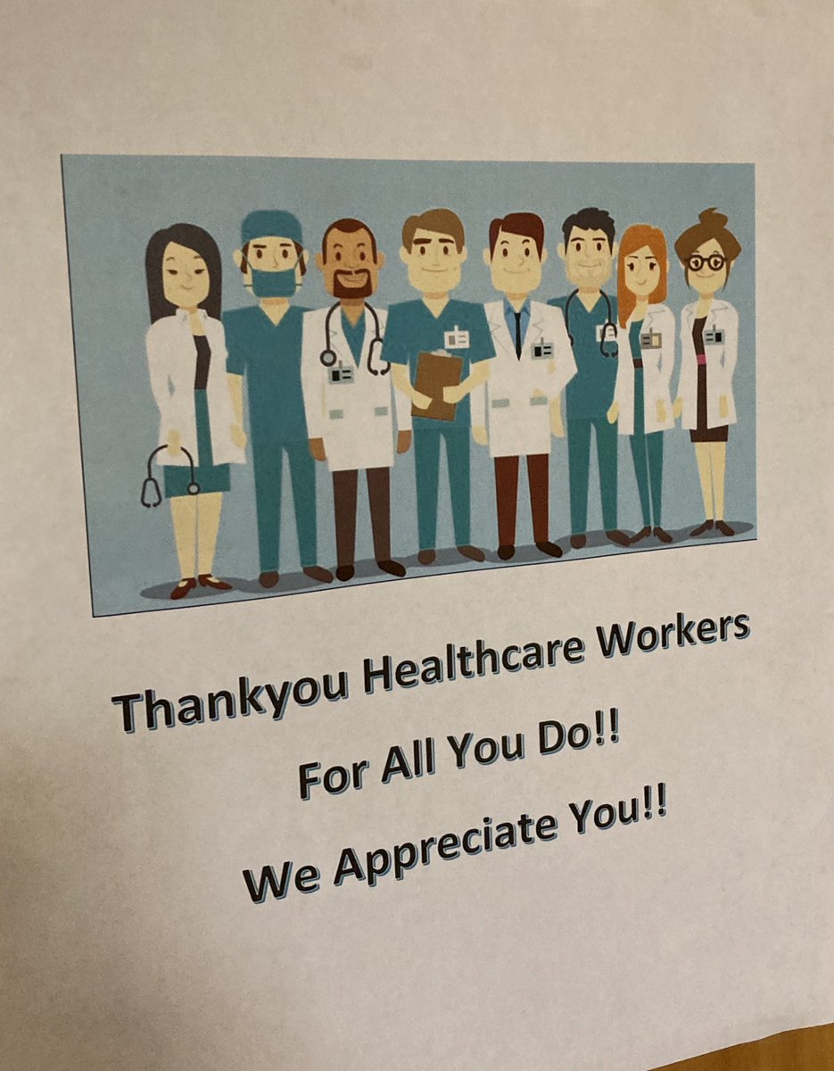 #SignOfTheDay #ThankYouHealthCareWorkers https://t.co/R4A6h6OxTa