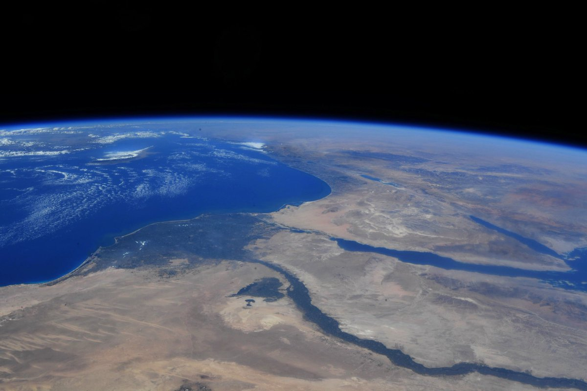 Egypt and the Nile River on the Mediterranean Sea. https://t.co/PsowWYcQZM