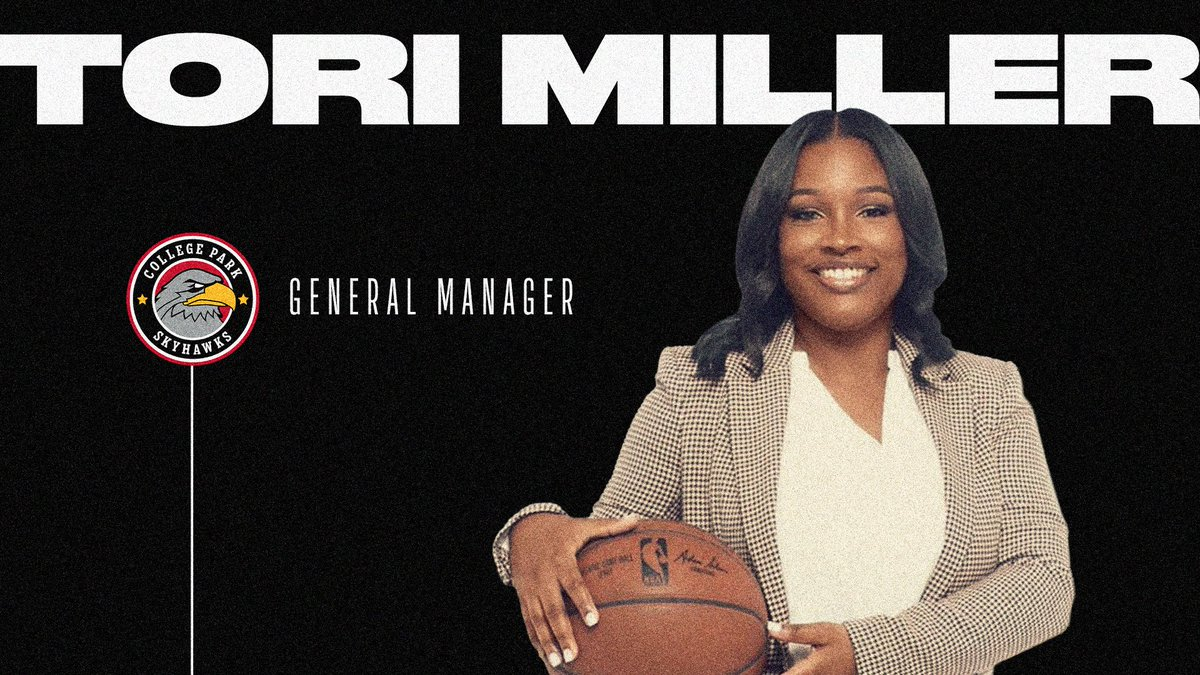 new @cpskyhawks GM Tori Miller makes history as the first woman to hold the position in the #NBAGLeague  more: https://t.co/ujJheCHYj7 https://t.co/kxLeNcPf2x