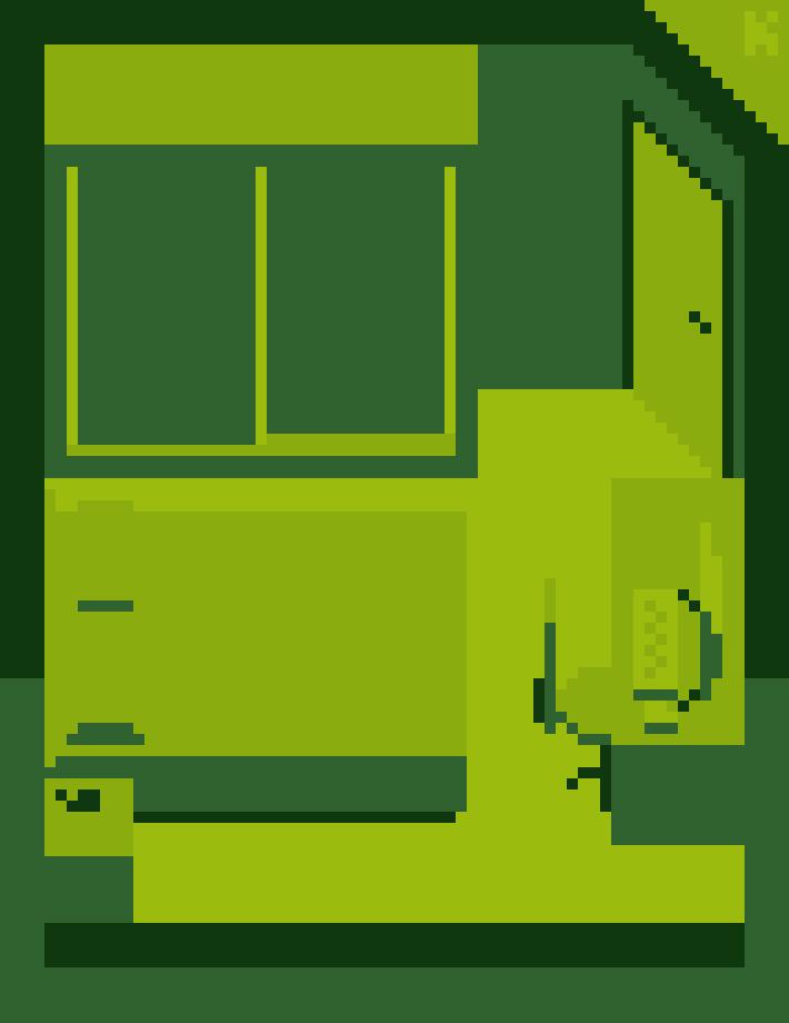 My room in a gameboy style #pixelart pic.twitter.com/y4e89VeiU1