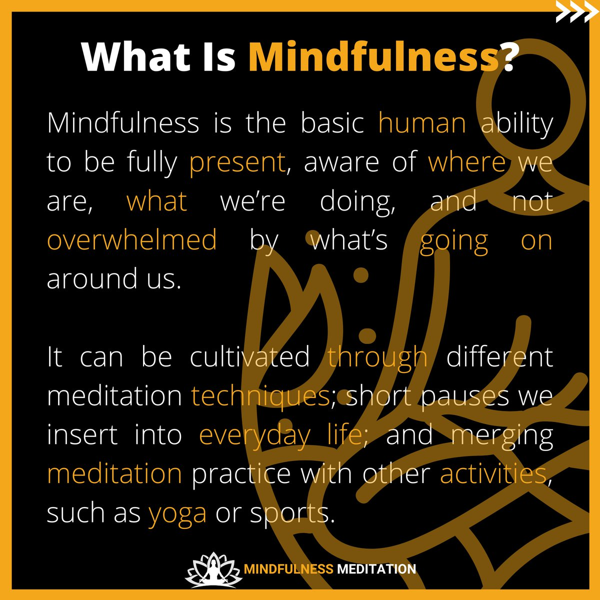 What is Mindfulness? . https://t.co/uOgKJmy2pM . #meditation #mindfulnessmeditation #deepmeditation #innerpeace #relaxingmusic #yoga #relaxingvideos #relaxtime #youtubechannel #youtubevideo #subscribe #subscribetomychannel #Mindfulness https://t.co/U4Jaa2qlBQ