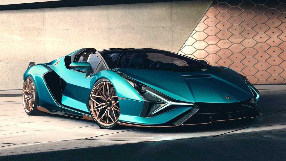 Lamborghini sigue en modo novedades!!! esta vez la marca italiana presentó la versión descapotable del Sian. https://t.co/sSfGeXbLFx  #lamborghini #cars #NEWS #industrie https://t.co/JnZry4kRgy