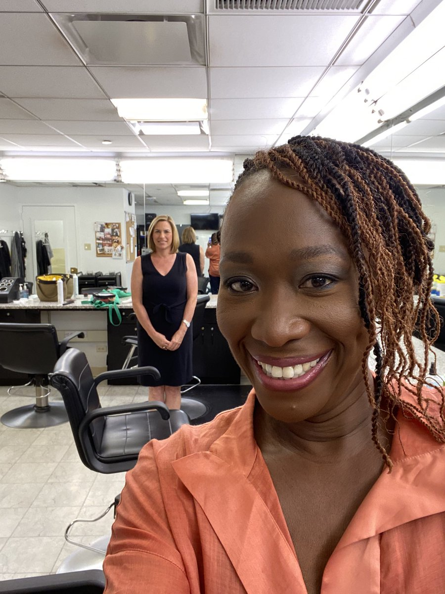 Congratulations, @JoyAnnReid! (On the new gig, not the hair & makeup, although you nailed that too) Tuning in now!!