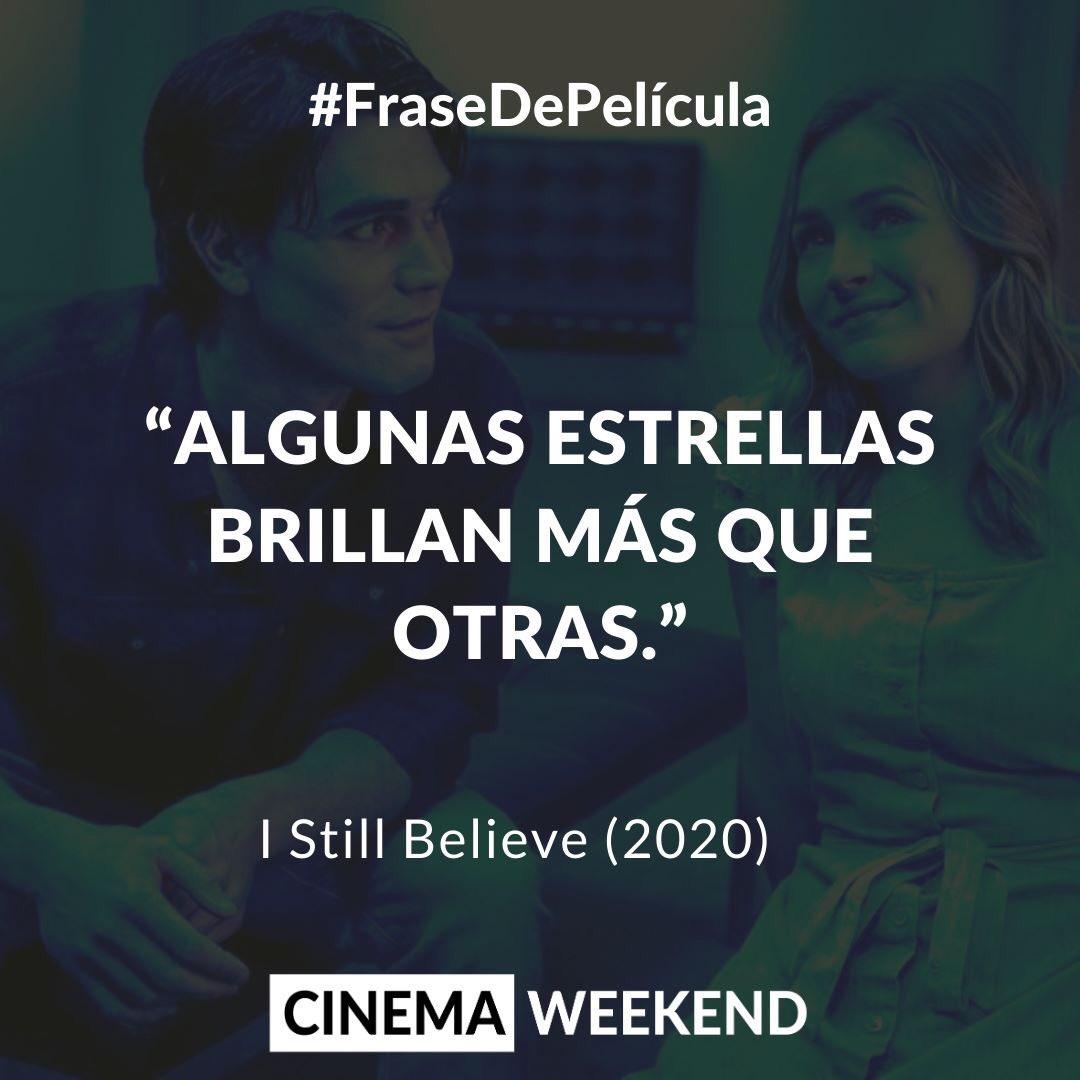 Frases para dedicar... #IStillBelieMovie #Romance #cinemaweekend #KJApa #BrittRobertson pic.twitter.com/NYMOwCURze
