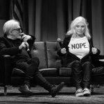 Image for the Tweet beginning: Debbie says nope.  #InConversation 📸: Howard
