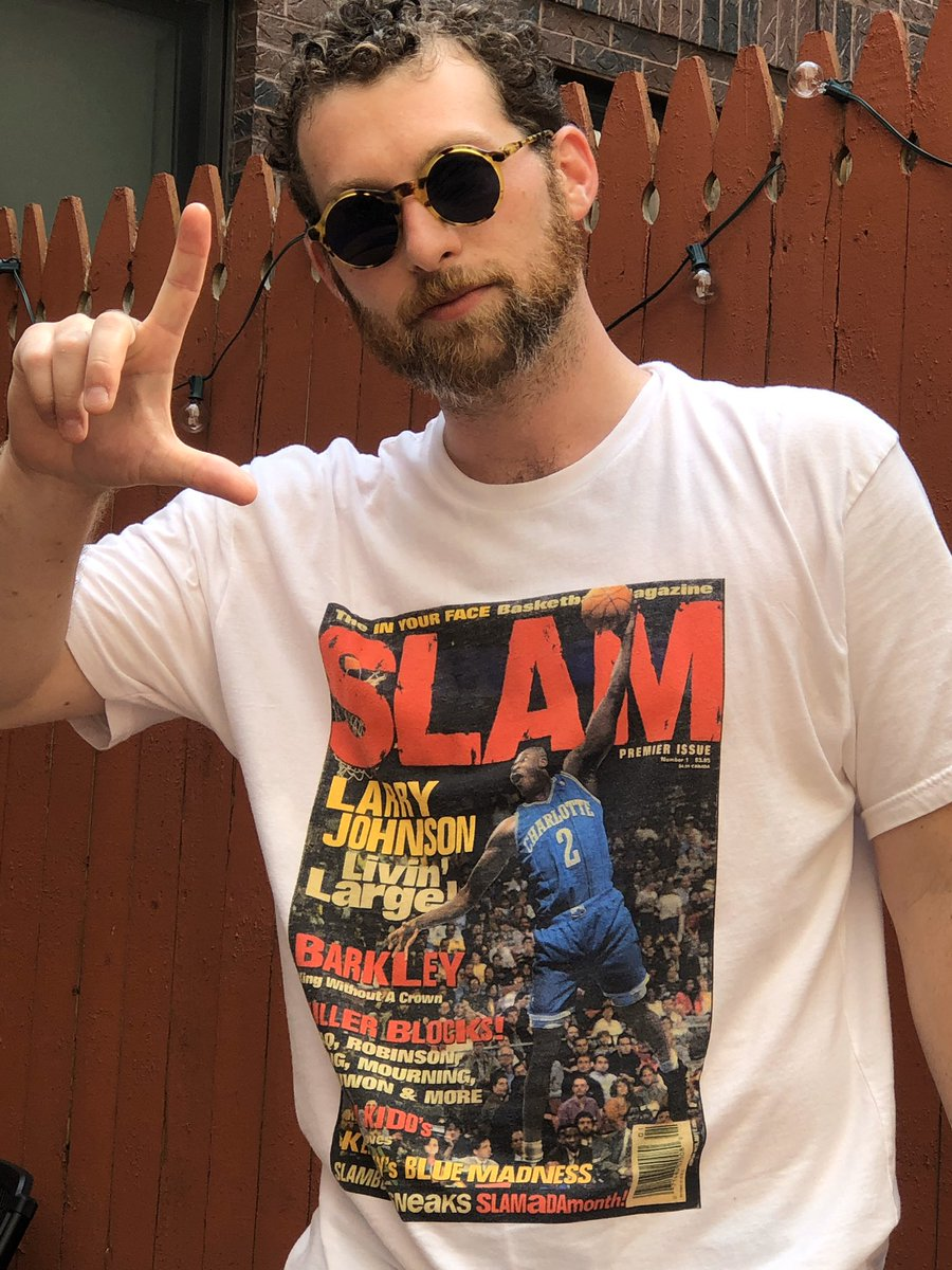 Livin' Large! Cover Tees Available Now! 🌊 #SLAMisFam Cop here: slam.ly/slam-shop
