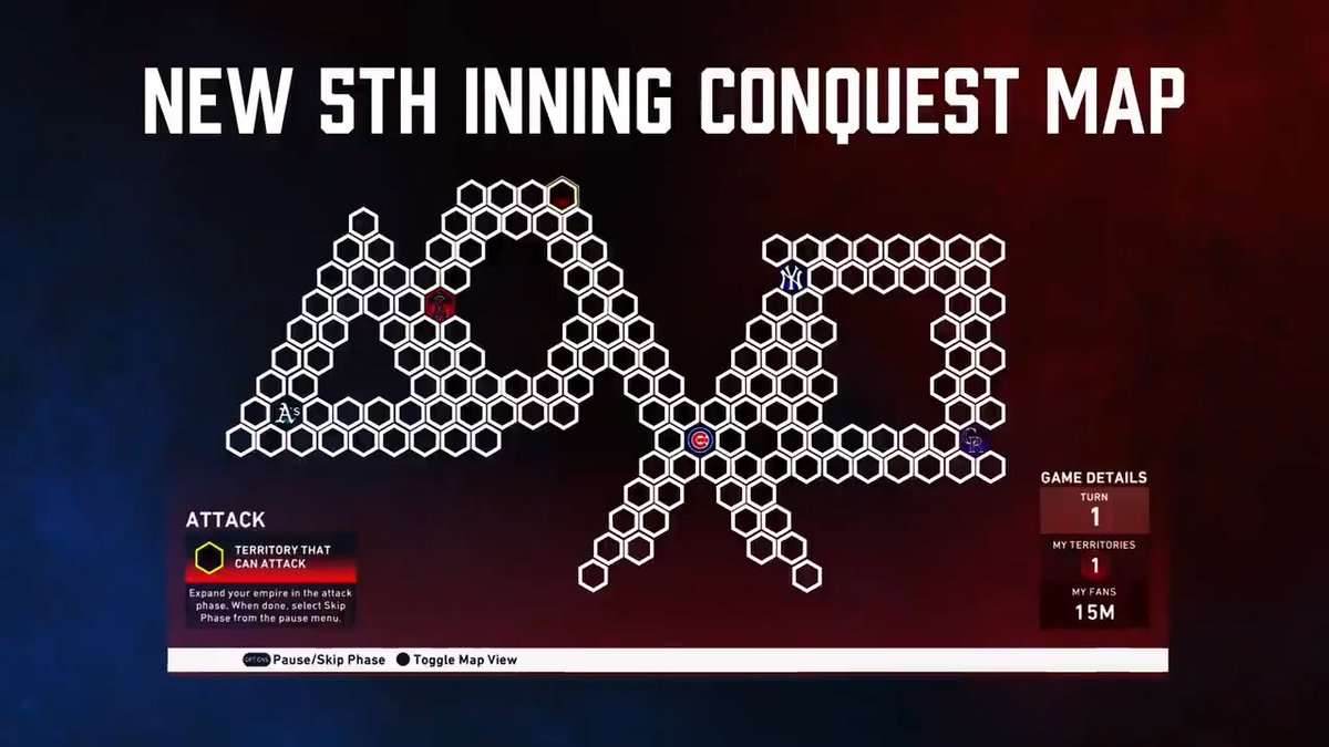 LIVE NOW 🗺️NEW 5th Inning Conquest Map: Symbols 🏆Also Headliners Pack - Set 33: Awards Charlie Blackmon #TheShow20 #WelcomeToTheShow #TheShow #MLBTheShow20 #MLBTheShow