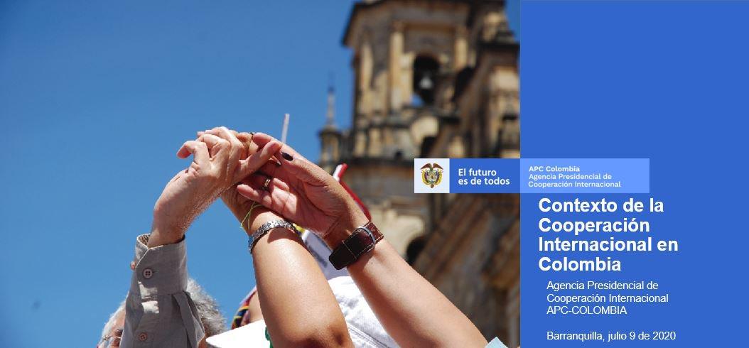 APC-COLOMBIA fortalece las capacidades sobre el actual contexto de la cooperación internacional, a  equipos  de @Gobatlantico y @alcaldiabquilla. #LaCooperaciónEsDeTodos  #ENCI 2019-2022 https://t.co/1DEaB8Qdm5