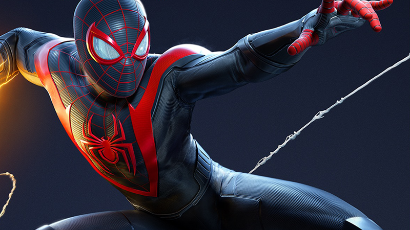 Miles Morales' video game suit is so goddamn cool bit.ly/38EKylY