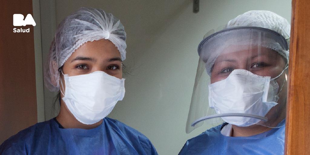 Ellas son las enfermeras en el Dispositivo DetectAr encargadas de hacer los hisopados, para determinar si una persona tiene o no coronavirus. Les agradecemos por su labor diario y vocación cuando más se necesita.  #CuidarteEsCuidarnos #ProtagonistasDeLaSalud https://t.co/MbI1e89HKB