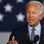 Image for the Tweet beginning: Biden strikes populist tone in