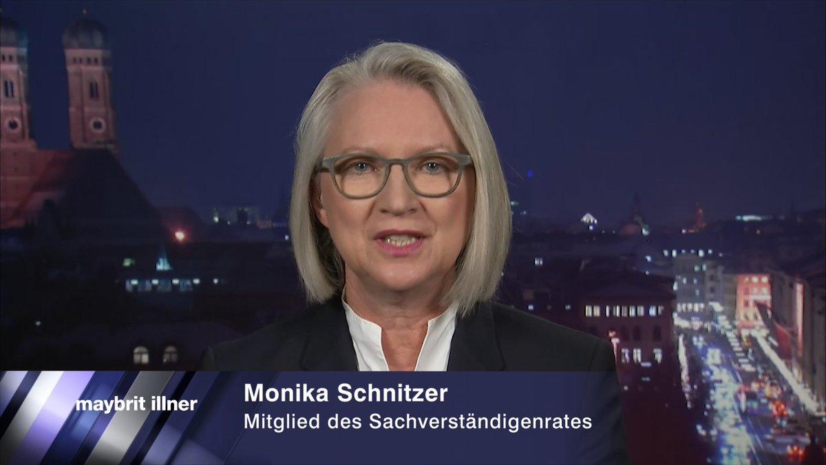 """Eine Offensive bei der Anwerbung hochspezialisierter Fachkräfte und Wissenschaftler hat die """"Wirtschaftsweise"""" @MonikaSchnitzer gefordert. Die Chancen seien groß, da US-Präsident Donald Trump beschlossen habe, keine Visa mehr zu vergeben Mehr #illner 👉"""