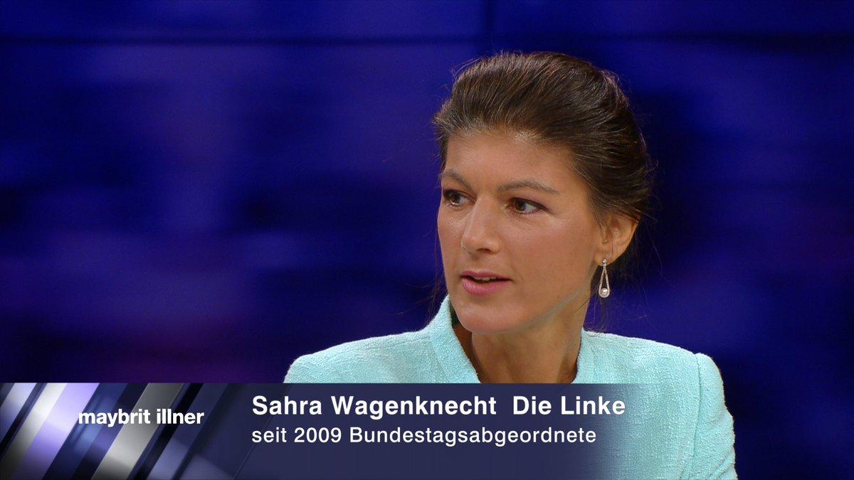 """Die Volkswirtin Sahra Wagenknecht (Die Linke) forderte eine """"klare Ansage an die Unternehmen: Wer in der Krise noch Aktien aufkauft und Dividenden ausschüttet, kriegt auch keine staatliche Unterstützung"""".  Die ganze #illner Sendung 👉   @SWagenknecht"""