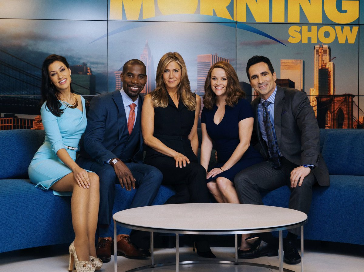 🎉 Hot off the press 🎉  #TheMorningShow has been nominated for a 2020 TCA Award for Outstanding New Program! Cheers to the whole cast and crew 👏