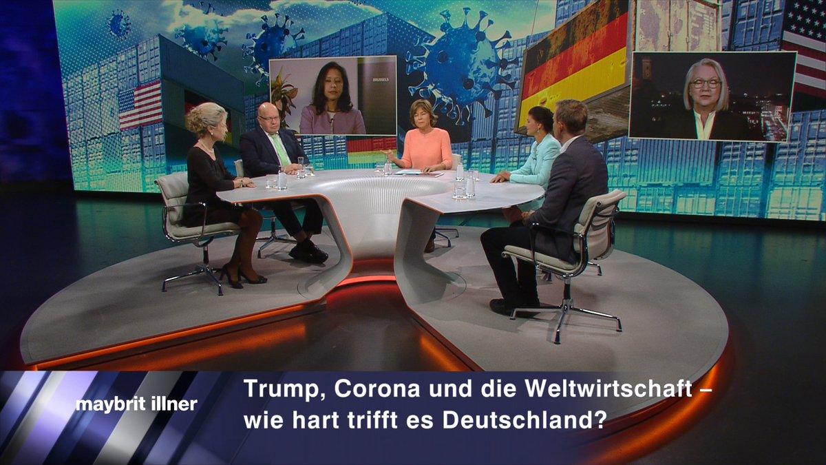 Hier die #iilner Sendung in der @ZDF Mediathek – auf Abruf und zum Download 👉  @peteraltmaier @SWagenknecht @SudhaDavidWilp @hendrikstreeck @MonikaSchnitzer @SandraNavidi   #Trump #Corona #Rezession #Wirtschaft #Coronakrise #USACorona #Globalisierung