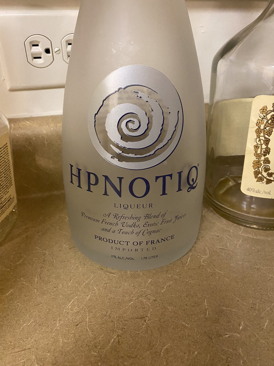 Am I the only one who always thought HPNOTIQ had a Y in it? I coulda swore it was spelled HYPNOTIQ 😂 https://t.co/P18a9WVSFx