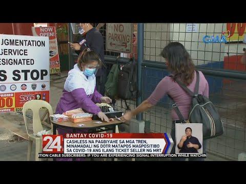 VIDEO: Cashless na pagbiyahe sa mga tren, minamadali ng DOTr matapos magpositibo sa COVID-19 ang ilang ticket seller ng MRT https://t.co/FbtGzZPYNR https://t.co/uuWKt69nlR