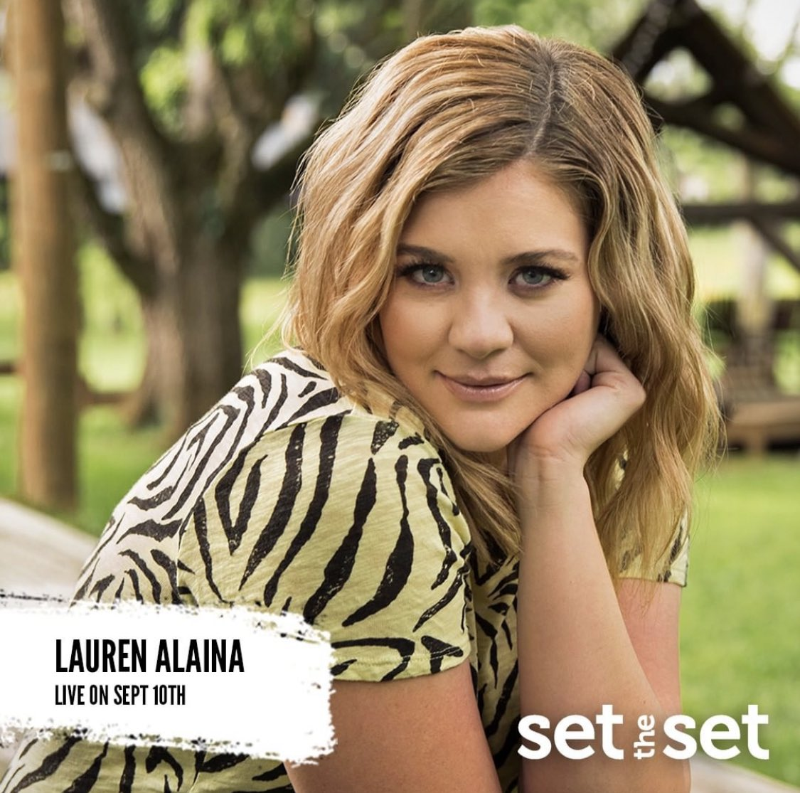 🚨 NEW ARTIST ALERT. @Lauren_Alaina is now live on #SetTheSet. Pick the songs you'd want her to perform on Sept 10 by visiting https://t.co/YO3SlyVBu8. She's also going live on @USCellular's IG at 7pm CST TONIGHT! #Music https://t.co/eubv95eUoz