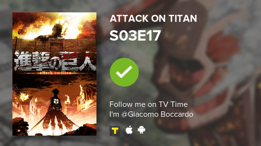 test Twitter Media - I've just watched episode S03E17 of Attack on Titan! #AttackOnTitan  #tvtime https://t.co/jcj0bn3mB1 https://t.co/NVKgUQmk2U