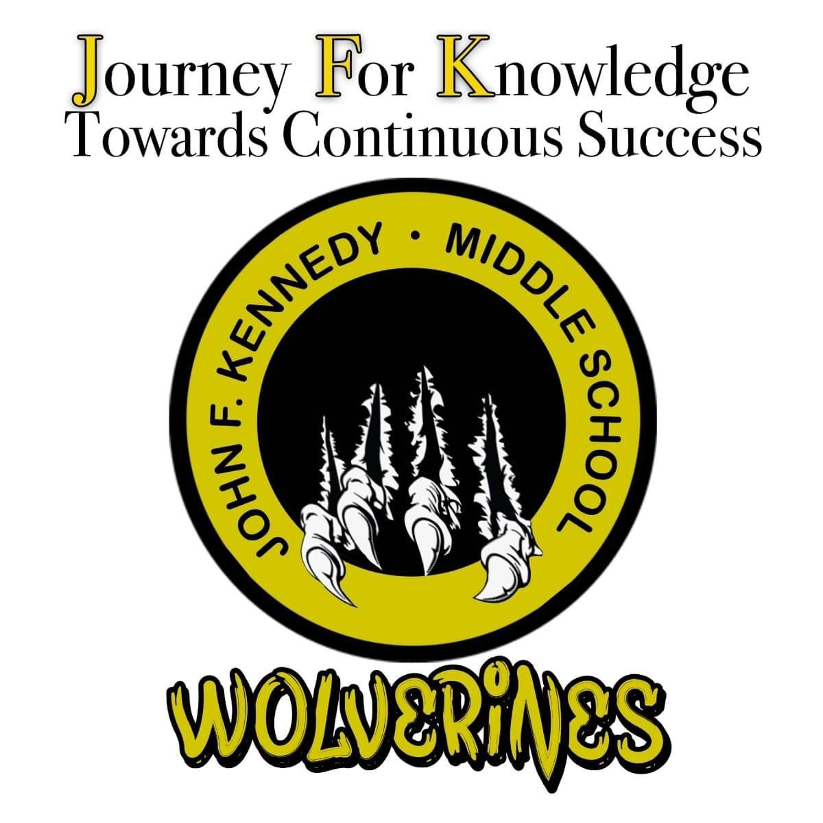 Are you ready for the journey? The Wolverines are ready!! @jfkwolverines @JFK_AP