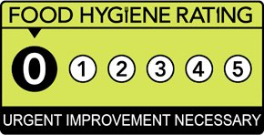 Humphry's rated 0/5 URGENT IMPROVEMENT NECESSARY by the Food Standards Agency #FoodHygiene The Highams Park Keepers Lodge The Highams Park, The Charter Road, #WoodfordGreen, IG8 9RE Inspected 4/6/20 http://ratings.food.gov.uk/business/en-GB/1042168…pic.twitter.com/CJl37fzzNN