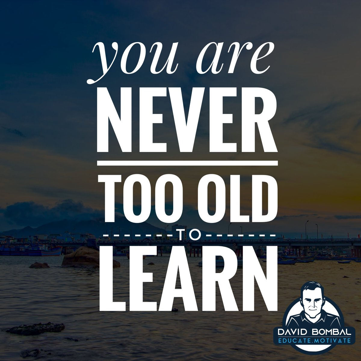 You are never too old to learn.  #motivationquotes #dailymotivation #ccna #inspirationalquote #cisco pic.twitter.com/R9vyuAAQom