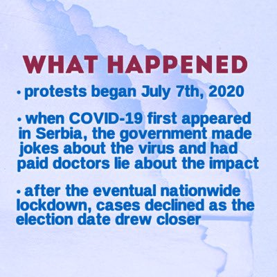 Some info on whats going on. STAND WITH SERBIA