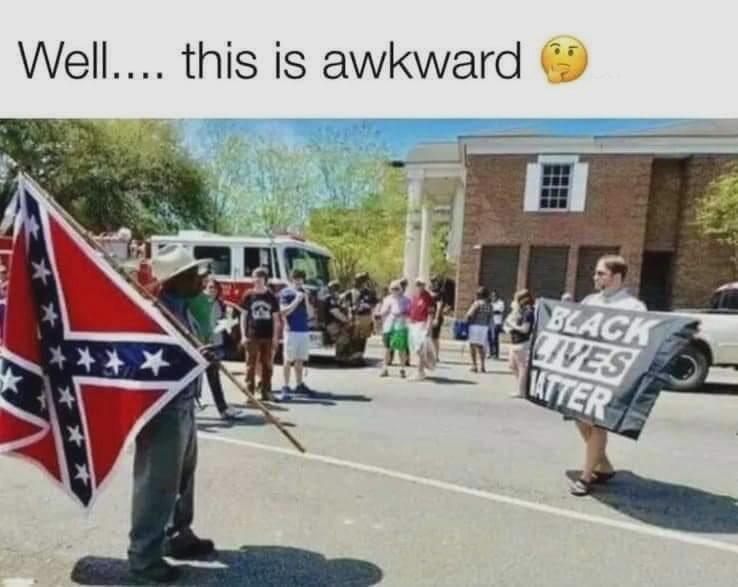 RT @larryelder: Now what?  #BlackLivesMatter #ConfederateFlag https://t.co/khNc5iXT7I