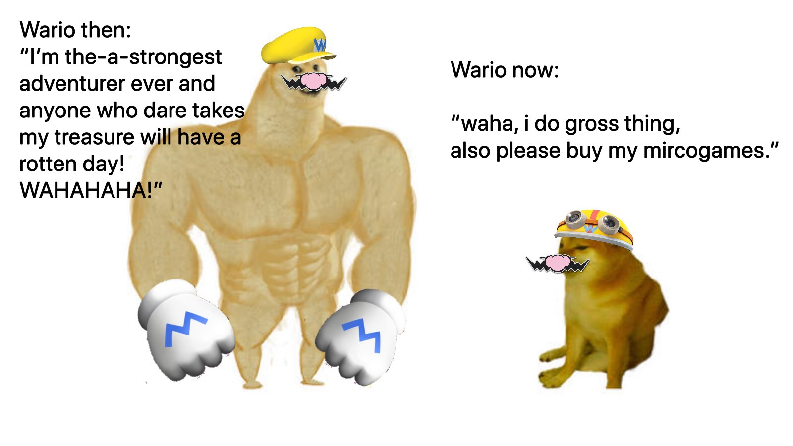 """Dee Dude on Twitter: """"Since Wario was a trending topic, let's lay down some  basic facts.… """""""