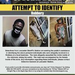 Image for the Tweet beginning: Detectives seeking public's help identifying