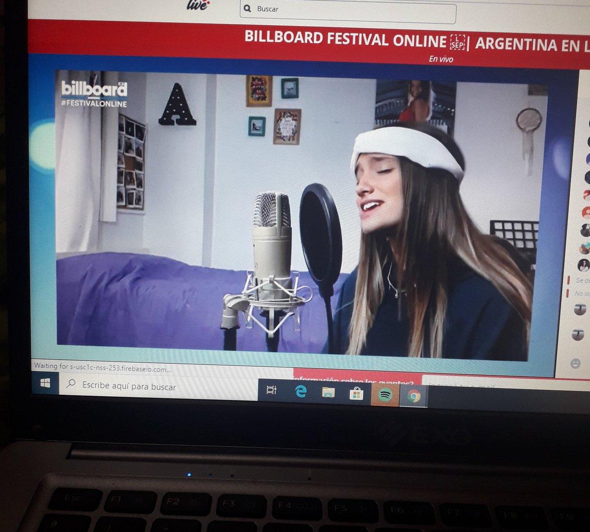 "@agosnisii y ""Que Tanto"" en @BillboardArg AMMMMMOOOO😍 https://t.co/tXCMEGAT6m"
