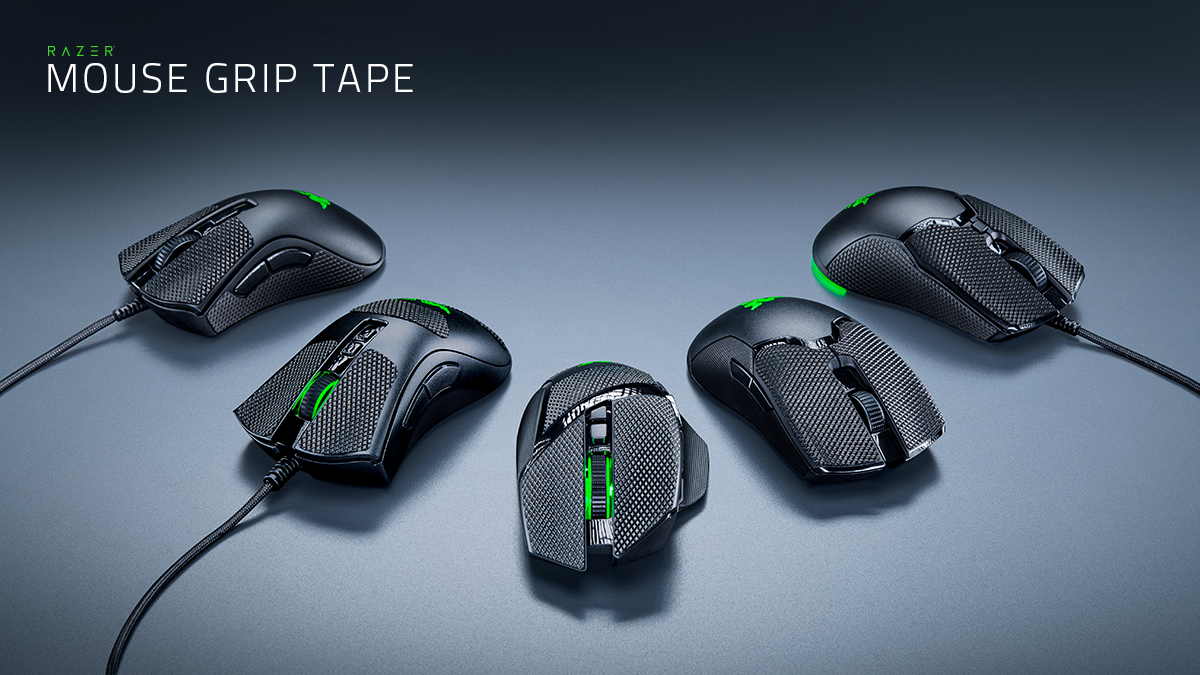 Seize control with Razer Mouse Grip Tapes that offer extra grip and more control for our most popular mice, giving you complete control of your weapon even in the most intense firefights. https://t.co/Uvntjkm2ZI https://t.co/GKJCA0ZMkv