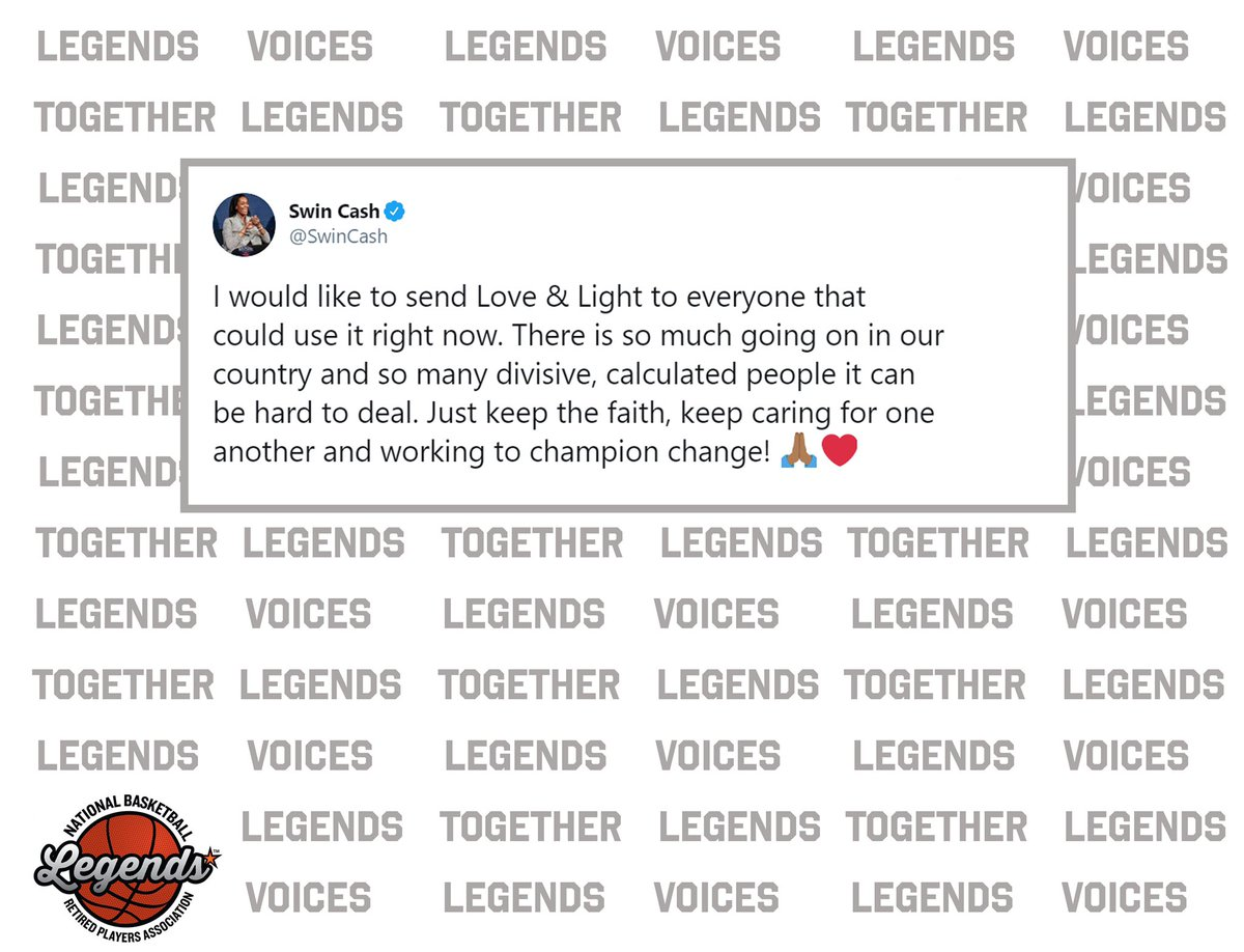 #LegendsVoices  #LegendsTogether https://t.co/2xE3XpmhSE